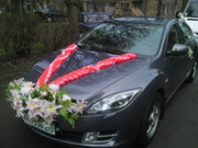 Аренда авто mazda6 на свадьбу,  торжества,  встречи